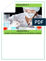Bioquimica II- Labo 2