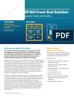 Qualcomm Rf360 Front End Solution Product Brief