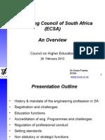 20120228 Ecsa Overview