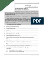 Job Description Questionnaire