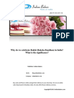 Why Do We Celebrate Rakhi or Raksha Bandhan