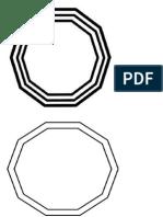 Decagones Et Spirales d'Expansion