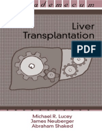 Michael R. Lucey James Neuberger Abraham Shaked Liver Transplantation - Vademecum 2003