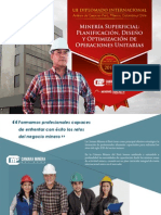 Mineria Superficial Planificacion Diseno Optimizacion Operaciones Unitarias