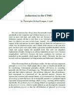 C. M. Langan - Introduction to the CTMU