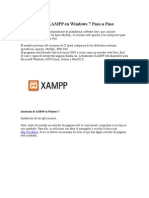 Instalación de XAMPP en Windows 7