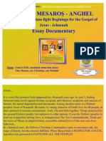 Hebrew Christians Fight Beginings for the Gospel of Jesus 2011