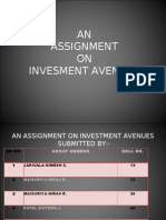 in Investment Avenues Final
