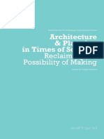 Architecture and Planning in Times of Scarcity by Deljana Iossifova