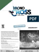 Chrono Cross - Manual - PSX