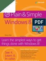 Windows 8 Plain Simple