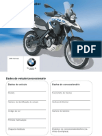 Manual Do Proprietário - G650 GS Sertão