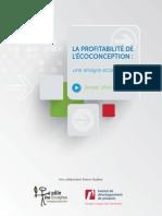 2014 - Rapport Profitabilité de l Eco-conception