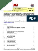LFEPA GN 29 - Access for Fire Appliances
