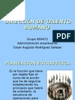 Dirección de talento humano