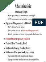 l5 - Advanced Scheduling