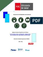 Plan Nacional Para La Prevencion y Erradicacion de La Silicosis en El Peru