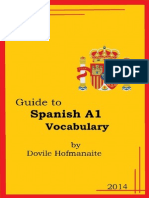 Guide to Spanish a1 Vocabulary