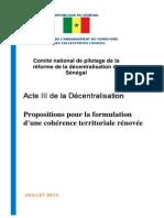 3 07 2013 ACTE_III Décentralisation