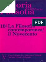 DAL PRA, Mario (1975) -Storia Della Filosofia. Vol. 10. La Filosofia Contemporanea, Il Novecento.