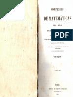 Compendio de Matematicas-PurasyMistas