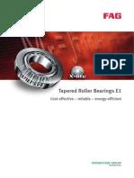 Ina Fag Tapered Roller Bearings e1 Brochure