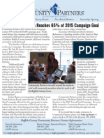 Community Partners' August 2015 Newsletter