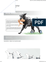 Dog Wheelchair by Anna-Karin Bergkvist at Coroflot