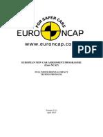 Protocol EuroNCAP coliziune frontala