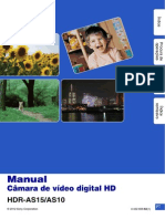 Sony Hdr as 10 15 Hb Manual Pt