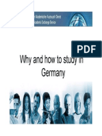 Why And How to Study in Germany