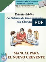 Manuel Para El Nuevo Creyente