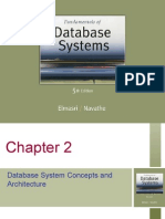 Database Concepts and Architecture
