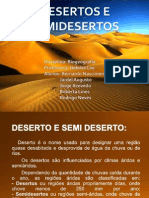 Seminário - Deserto e SemiDeserto Pronto