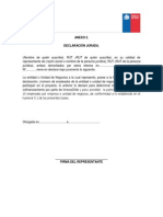 ANEXO 2 Declaración Jurada Empleados Participantes LEIDOS