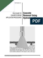 Curso ACI - Concrete Removal Using Hydrodemolition
