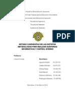 ESTUDIO COMPARATIVO METODOLOGIAS