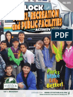 City of Turlock Rec Guide Fall 2015