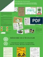 EXPOSITION MEMOIRE DE L'ECOLOGIE 2015 - Eléments pour une histoire de la lutte anti-nucléaire