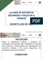 Seguridad Industrial 2015 1 Sistema General de Riesgos Profesionales y Normativa Vigente