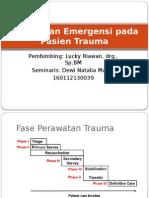 Perawatan Emergensi Pada Pasien Trauma