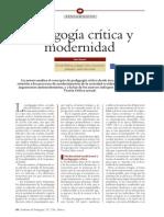 Ana Ayuste - Pedagogía Crítica y Nodernidad
