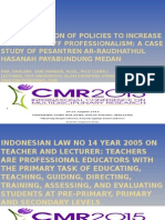 Dahlena Sari Marbun - Implementation of Policies
