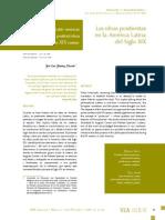 Las ideas positivistas de America Latina Siglo XIX