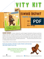 Elwood Bigfoot Activity Kit