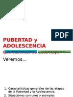 pubertad