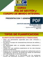 Clase 1 Introduccion a La Planificacion Curso Control de Gestion y Cuadro de Mando INE