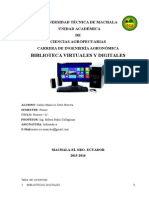 bibliotecas virtuales, digitales