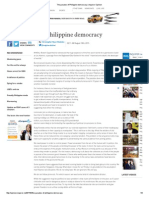 The Paradox of Philippine Democracy _ Inquirer Opinion