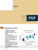 Cognitive BPM in healthcare industry